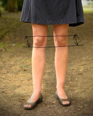 Kolena krásná, kolena zrádná