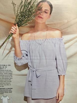 Model z časopisu Burda